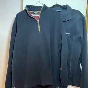 Bundle 2 men's jacket 1 Columbia 1 Woolrich Large